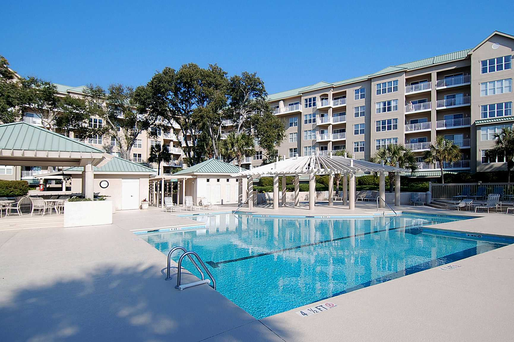 The pool is heated Mar 15 to April 30th The pool is cooled J