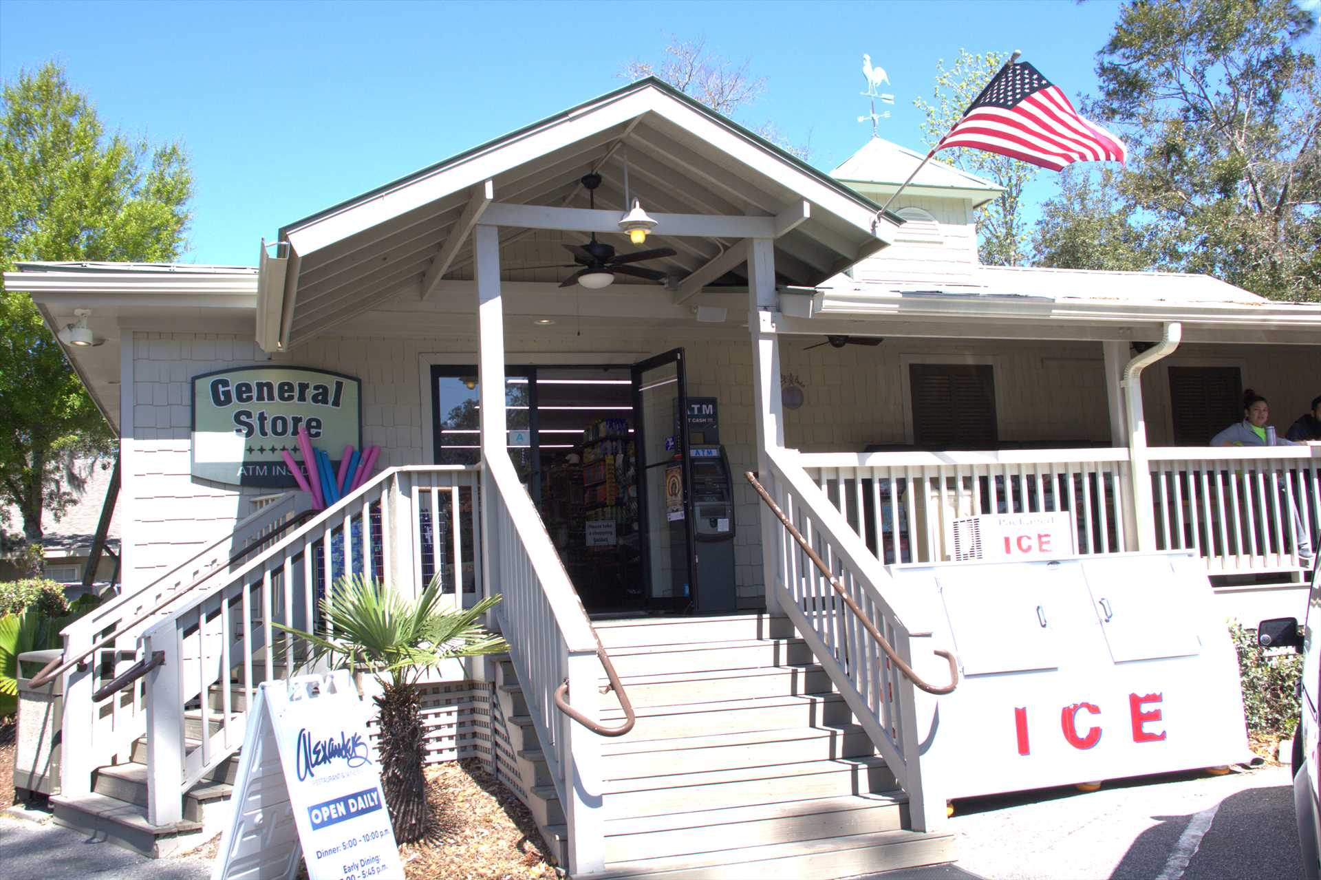 the General Store located in Palmetto dunes